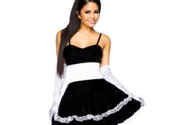 Sexy Halloween Play Girl Bunny Maid Costume For Women Lovely Female Miniskirt Lolita Maid Outfit Sexy Party Costumes Cosplay